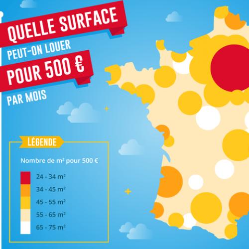 Immobilier Quelle Superficie Pouvez Vous Louer Pour 500 Euros